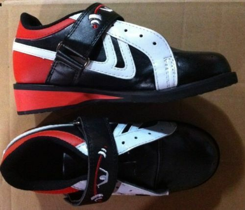 Olympic weightlifting shoes - Black and Red - Size 4.5