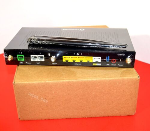 VDSL Modem Router SEALED. CenturyLink Technicolor C2000T Wireless 802.11N ADSL2