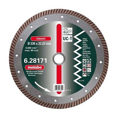 Metabo Diamant-Trennscheibe 125 x 2 x 22,23mm classic UC-T Turbo... 628168000