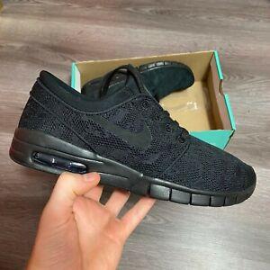 Gran engaño adolescente Limpiamente  Nike SB Stefan Janoski Max Negro Zapatillas Zapatos Talla UK7 US8 EUR41  631303-099   eBay