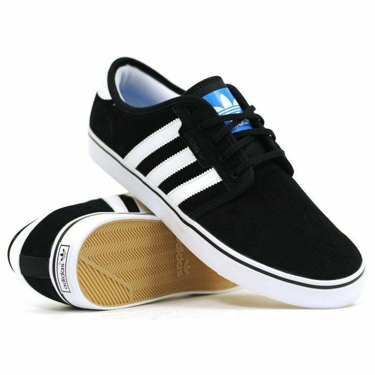 Adidas Seeley Suede Black White Pool G66639 LR MSRP  65