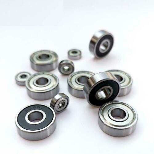 10pcs Bearing Steel High Precision Low Noise Long life For 625 626 627 628zz 2RS