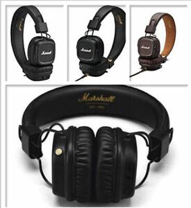 Marshall-Major-II-Bluetooth-Remote-MIC-Headphones-Noise-Deep-Bass-Headset