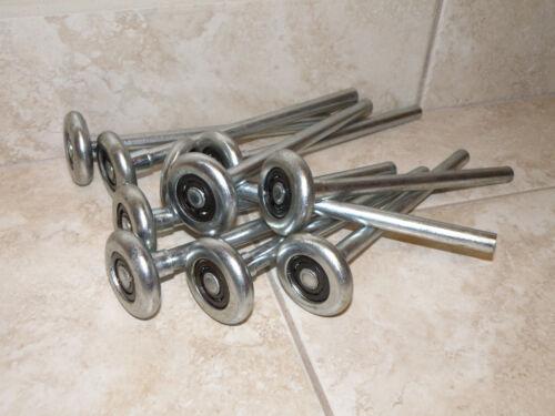 """Garage Door Rollers LONG 7/"""" HEAVY DUTY STEEL  for windload doors 12 pack"""