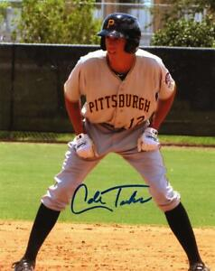 COLE-TUCKER-PITTSBURGH-PIRATES-SIGNED-AUTOGRAPHED-8X10-PHOTO-W-COA