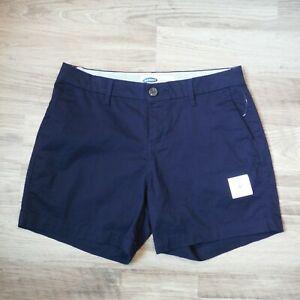 f02d9a1375 Ladies Old Navy Dark Blue cotton Chino Shorts size 2 5