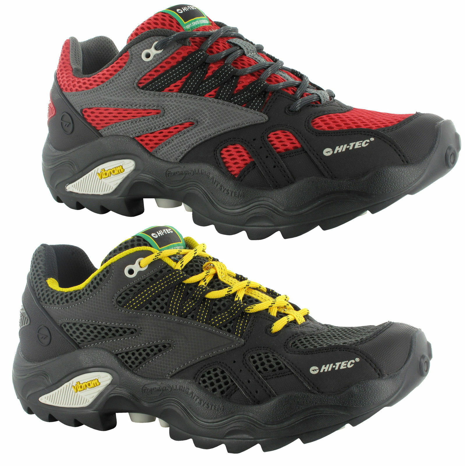 Hi-Tec Shield V-Lite Flash Force i Shield Hi-Tec Multisport Walking Hiking Trail Hombre Trainers 3e0d78