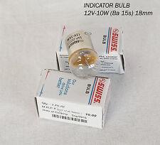 Brand New Royal Enfield Indicator Bulb 12v 10w @ Pack 4 Bulbs