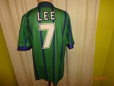 "Newcastle United asics Ausweich Trikot 1994/95 ""McEWAN´S LAGER"" + Nr.7 Lee Gr.L"