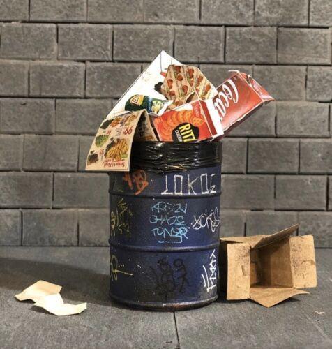 graffiti And Props Vary Marvel Legends 1:12  Graffiti Trash Barrel Prop