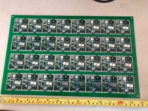 LARGE STEP AND REPEAT CIRCUIT BOARD  FOR ART