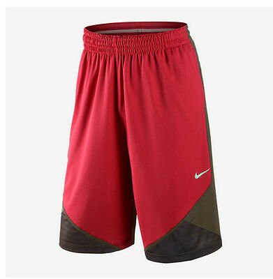 NWT Nike LeBron James Chainmail Men's Basketball Shorts S M L Red 575488 639