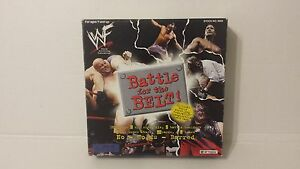 BATTLE FOR THE BELT VINTAGE WWF BOARD GAME WORLD WRESTLING FEDERATION # 9666