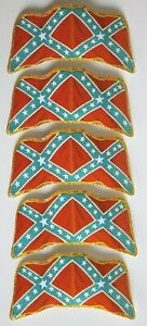 Britains Deetail 1971-ACW Guerra Civil estadounidense bandera x5-Original desplegado