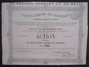 Soc-Anonyme-des-Papeteries-De-La-Sarraz-Clarens-Et-La-Batie-Geneve-1865-unentw