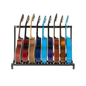 Guitar-Stand-9-Holder-Guitar-Folding-Stand-Rack-Band-Stage-Bass-Acoustic-Guitar