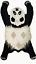 thumbnail 1 -  Panda rugs Shape 3'0''x5'0'' ft Handmade Tufted 100% woollen Area Rugs