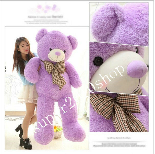 63'' Super Teddy bear  viola Huge soft plush toy doll Christmas gift+ Fast ship