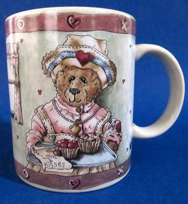 Nurse Bear Mug Cup Boyds With Gentle Hands Bearware Pottery Works 8 oz