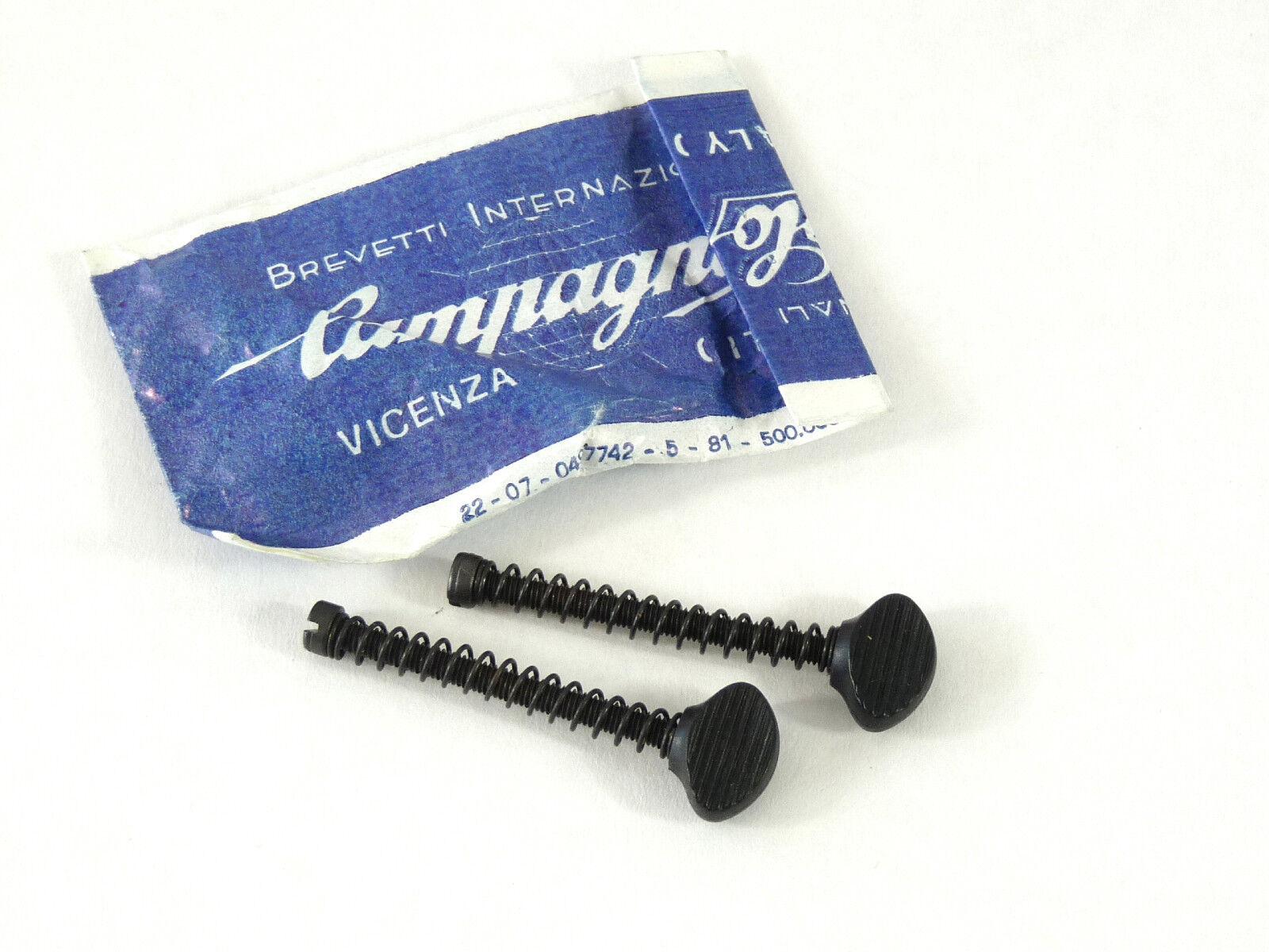 Campagnolo Dropout Adjuster Set 35mm Long Hand Adjust  Head Bike NIP NOS  the newest brands outlet online