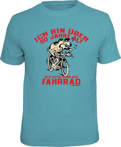 XXL-fun Proverbes Shirt 50 ans-Vélo-T-shirt Tailles S-M-L-XL