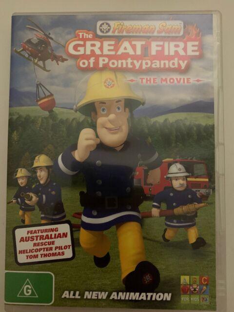 Fireman Sam of Pontypandy The Movie DVD