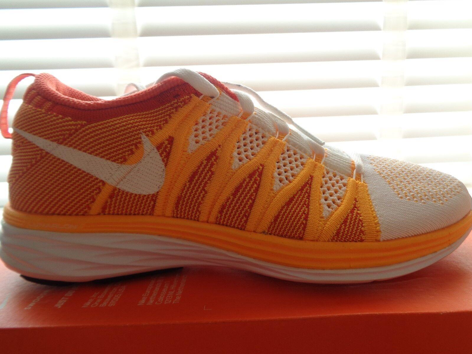 Nike Flyknit lunar 2  Femme  trainers sneakers 620658 101 uk 4 eu 37.5 us 6.5 NEW