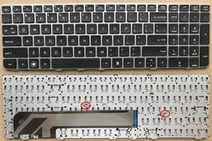 TASTIERA-con-CORNICE-d-039-argento-per-HP-Probook-4530S-4535S-4730S-Laptop-638179-001