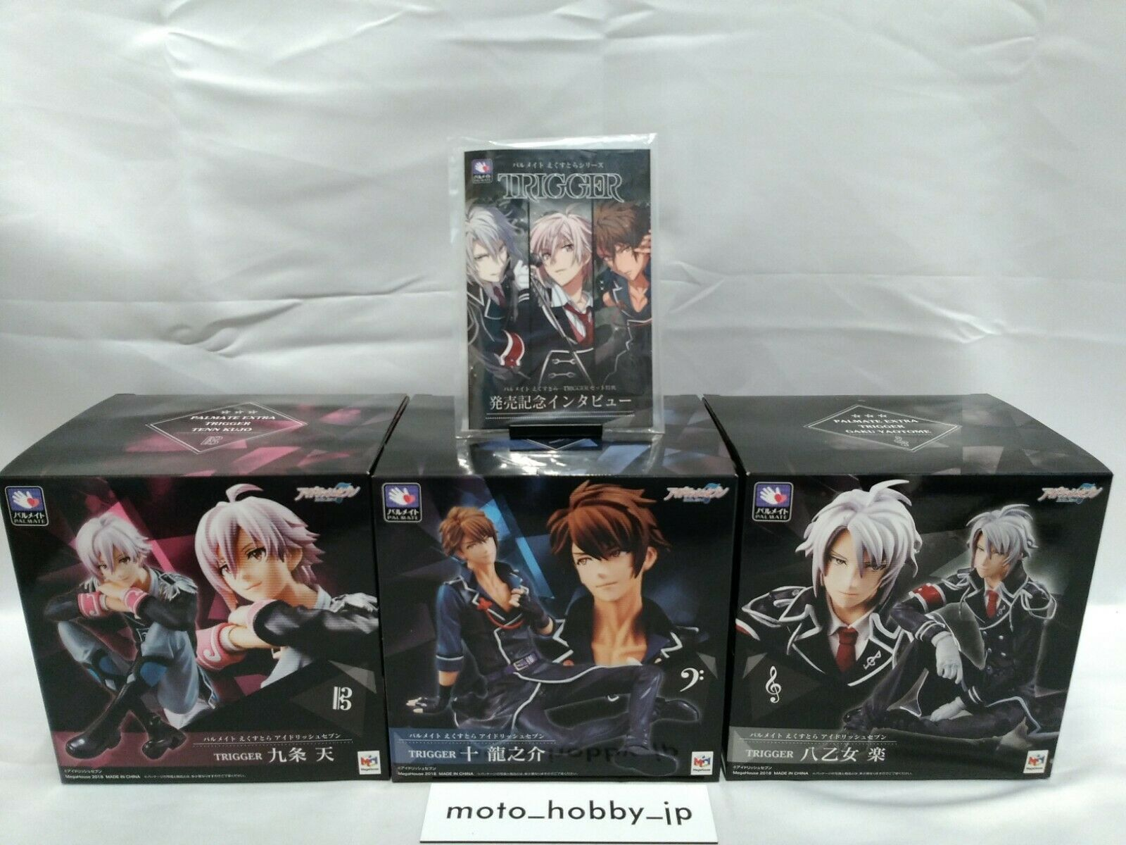 Idolish7 TRIGGER Set Completed Figure & Interview card Mega House Palmate Extra