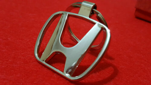 Accord Metal Keyring with Gift Pouch Jazz S11 Cr-V HONDA Car Logo Civic