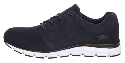 """Boras Sports Sneaker Suede /""""Status/"""" navy//white"""
