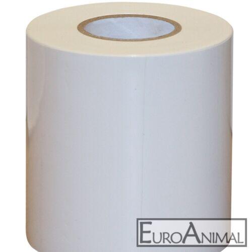 Siloklebeband 10cm x 25 Meter weiß Silo Klebeband für Silofolie Folienklebeband