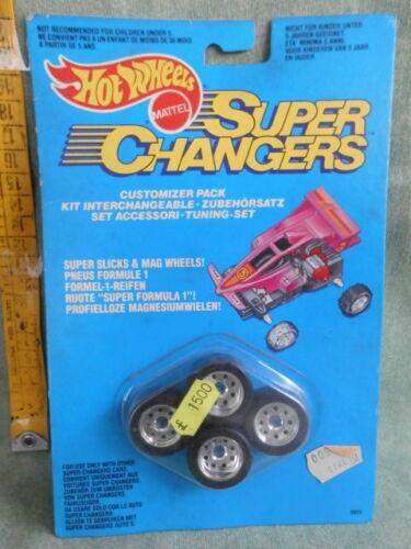 HOT WHEELS SUPER CHANGERS MATTEL 1989 FONDO DI MAGAZZINO
