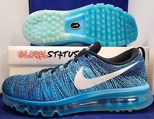 626dd7bdb1 ... where can i buy image is loading nike flyknit air max tide pool blue  lagoon ace6c