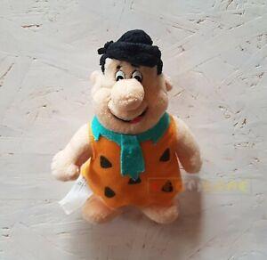 Peluche-Plush-FRED-FLINTSTONES-Hanna-Barbera-1998-NO-KINDER-16-cm-USATO-GM