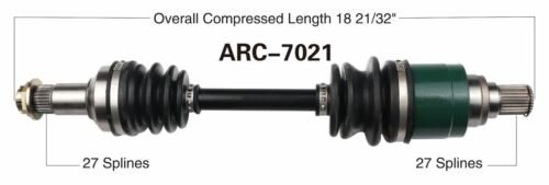 Rear Right CV Axle Shaft 11-16 Arctic Cat 350 366 400 425 ATV UTV 4X4