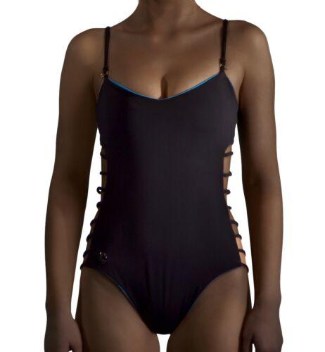 one piece UK size 8 Details about  /White reversible swimwear monokini