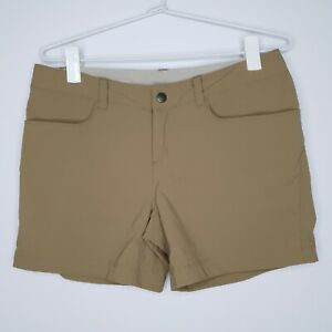 Patagonia-Women-039-s-Hiking-Shorts-Taupe-Pockets-Size-4-Aus-8