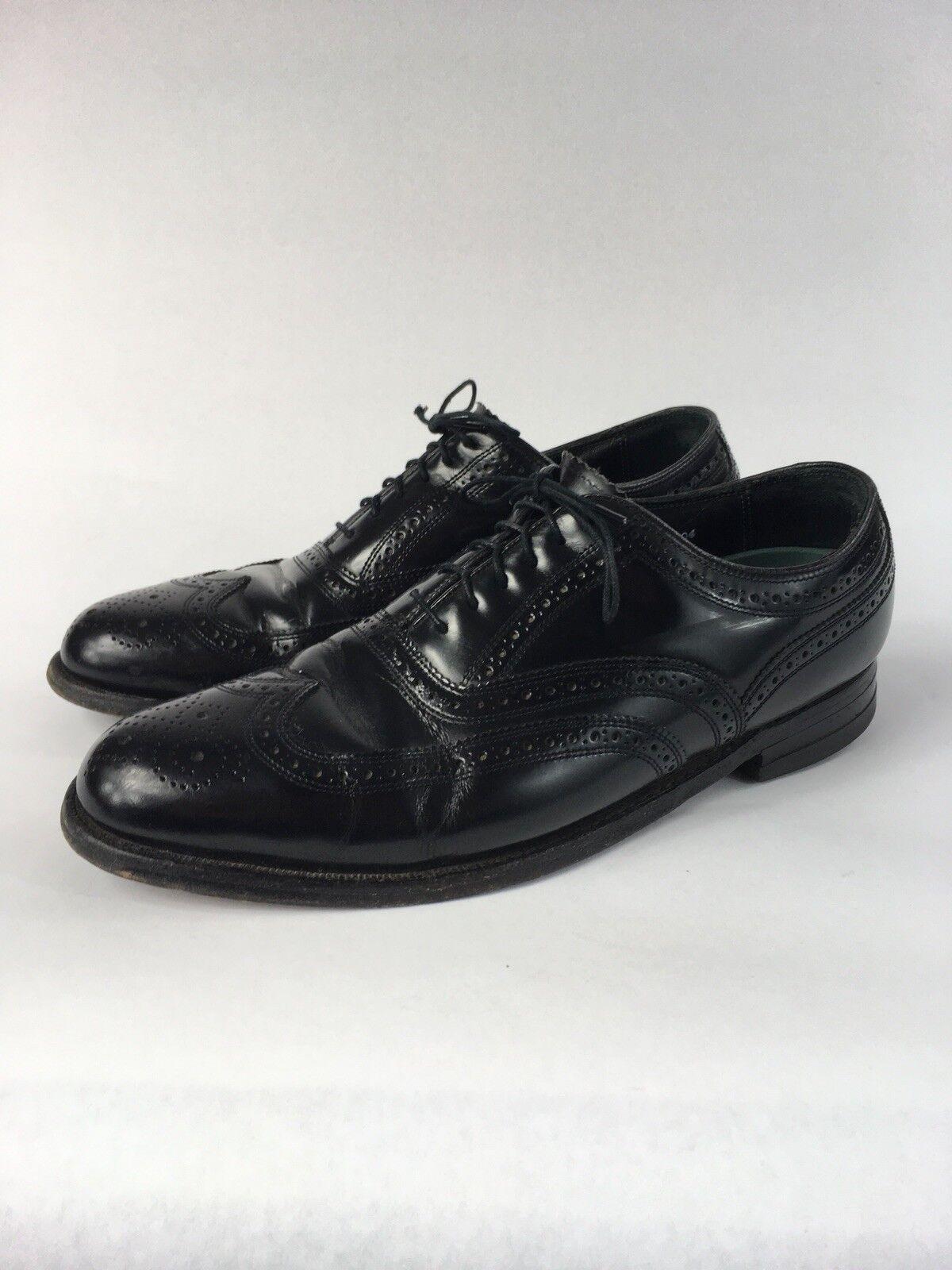 Florsheim Imperial Black Wing Tip new shoes shoes 92345 - Men's 9 D