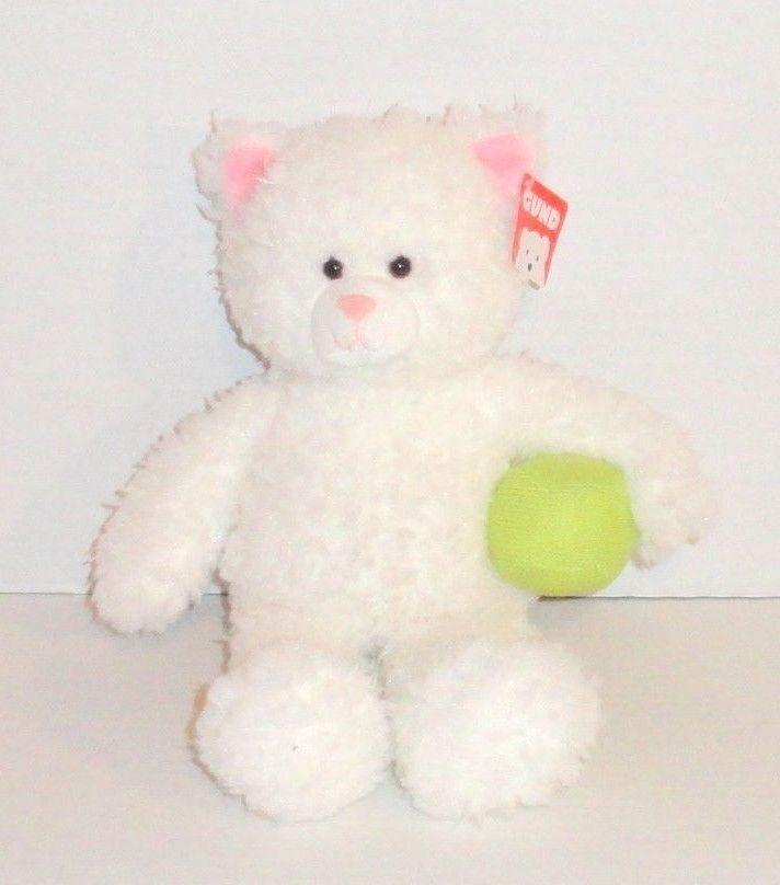 New Gund Weiß Cat Plush 13