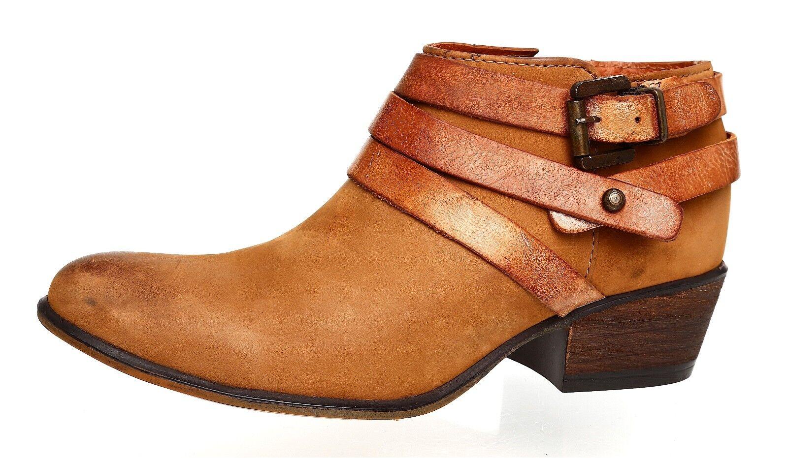 fino al 65% di sconto Steve Madden Madden Madden Regennt Leather avvioie Marrone donna Sz 6.5 M 4007   acquista online oggi