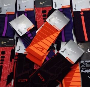 New-Nike-Elite-Cushioned-Basketball-Crew-Socks-Size-L-8-12-XL-12-15