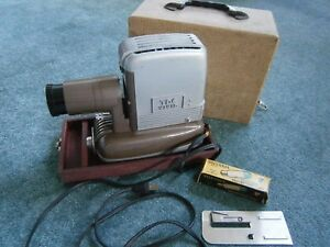 TDC Vivid Slide Projector with Case 1950s
