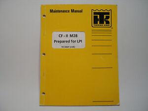 Astonishing Thermo King Cf Ii M28 Container Refrigeration Maintenance Manual Wiring 101 Tzicihahutechinfo