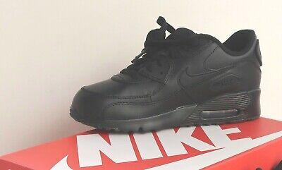 Nike Air Max 90 LTR PS Preschool Boy's Black Black Kid's Running Shoe Brand New 826220014562 | eBay
