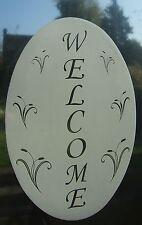 WELCOME SIGN  Vinyl Window Decoration / Static Cling / Window Sticker 10x15cm