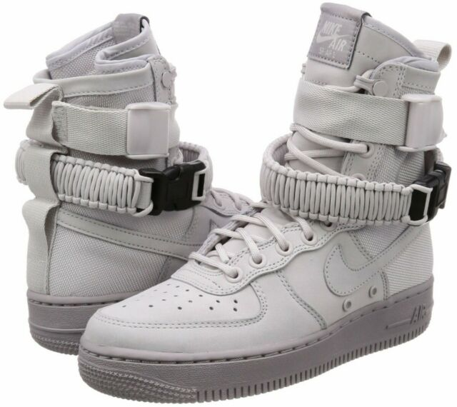 Womens Nike SF Air Force 1 BOOTS Vast Greyatmosphere Grey All Sizes 8