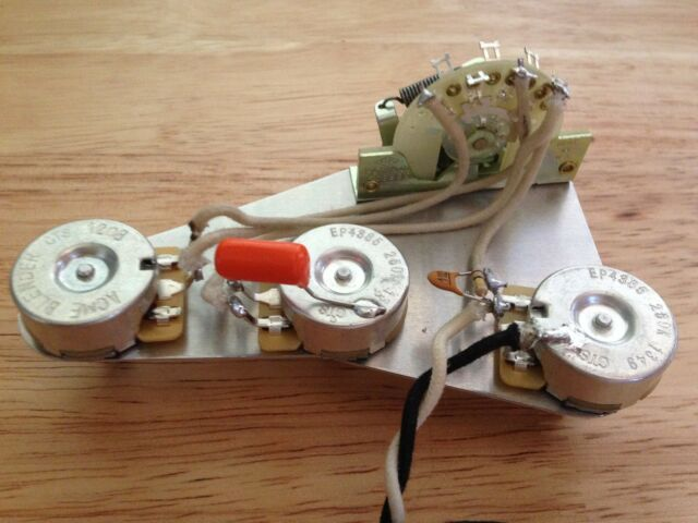 blender and treble bleed mod wiring harness upgrade for fender stratocaster Custom Strat Wiring