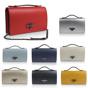 Glamexx24-Clutch-echt-Leder-Tasche-Abendtasche-mit-Kette-Umhaengetas-M-Italy