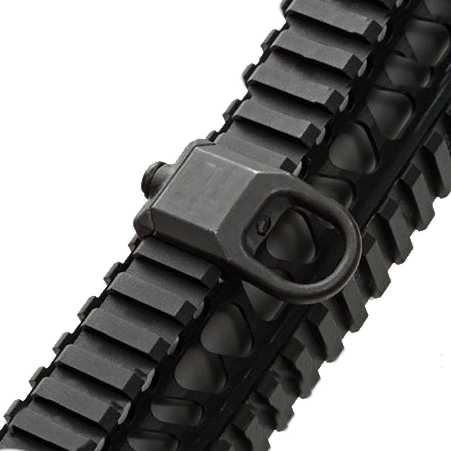 New Sling Mount Plate Adaptor Attachment fits 20mm Picatinny Rail Adapter Black